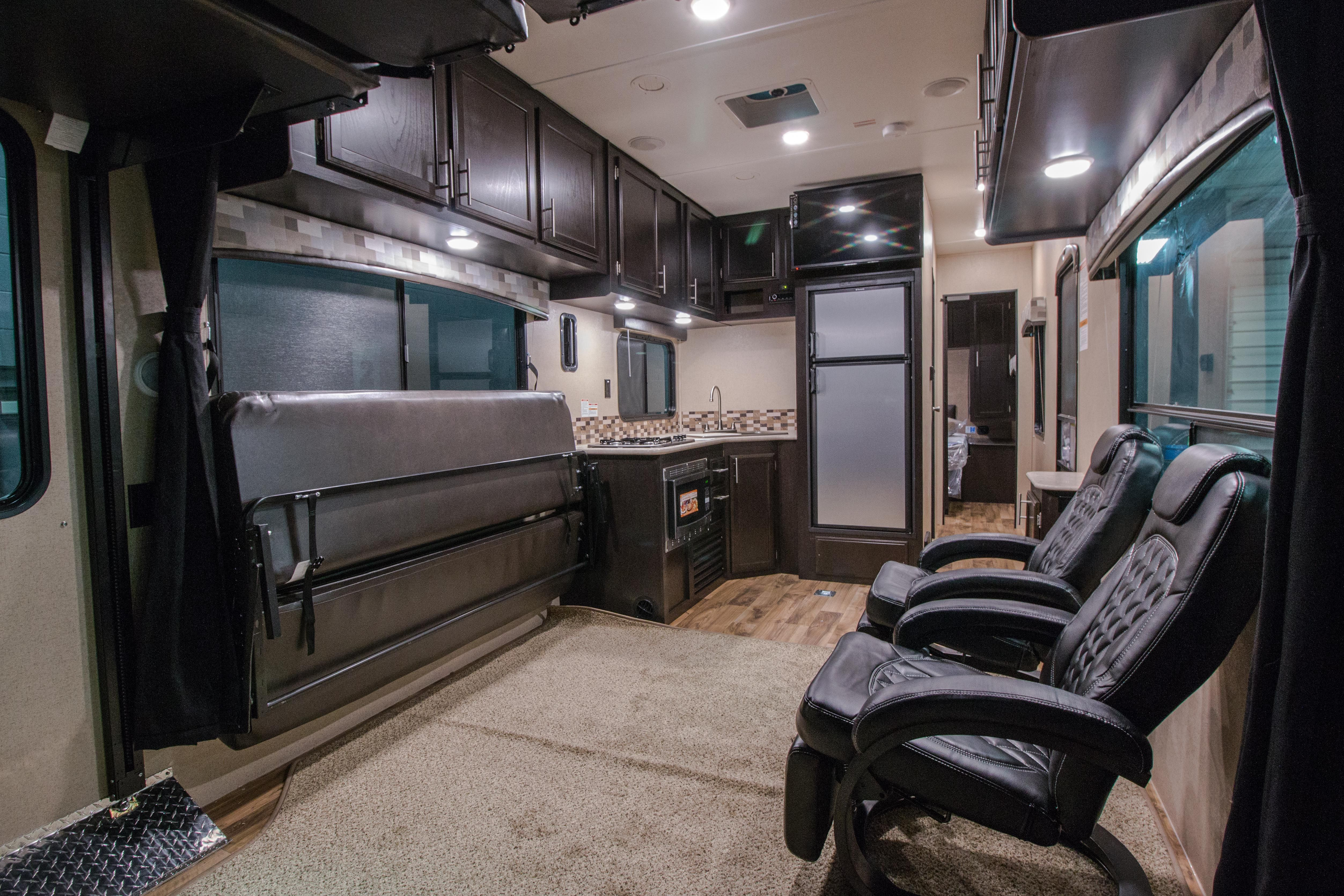 Jayco Octane T31b Interior With 2 Chair Option Toy