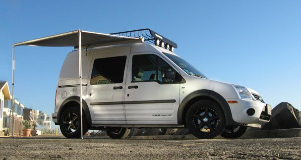 Ford Transit Van Camping Ford Transit Connect Camper Vans Ford Tourneo Connect