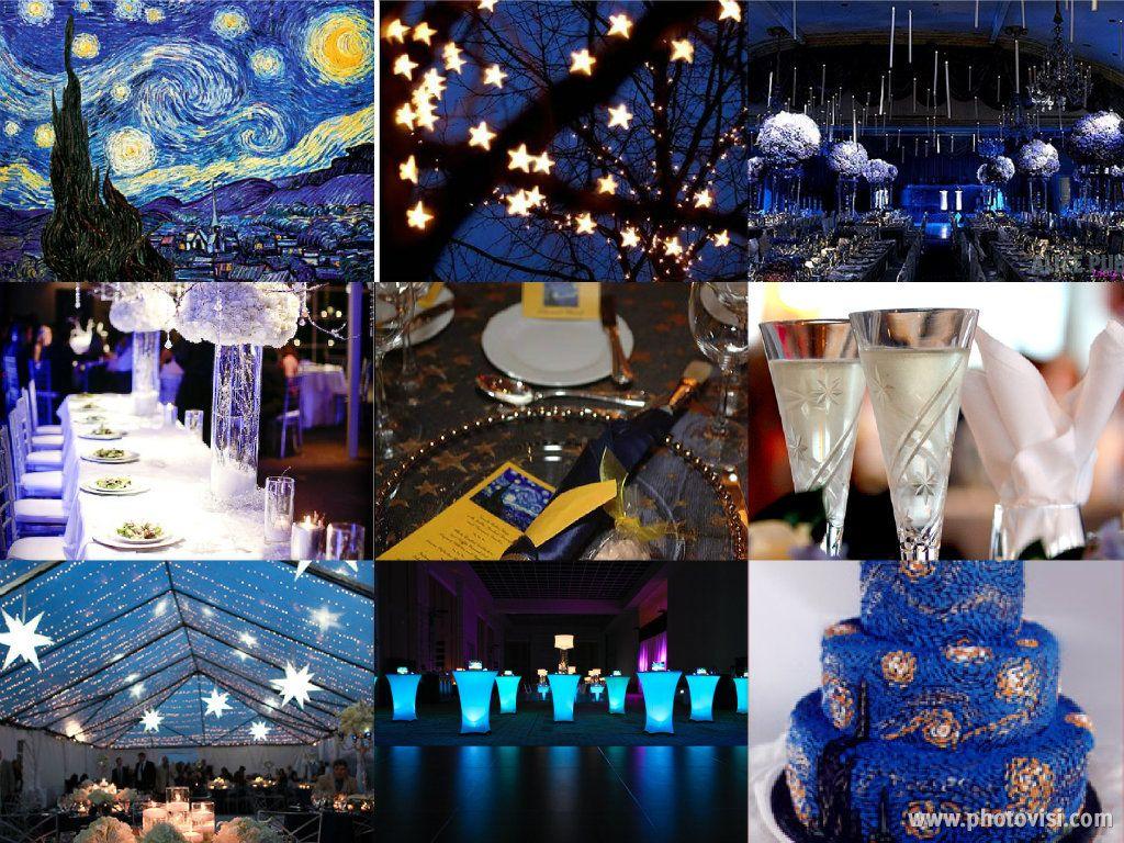 Daily Inspiration Van Gogh S Starry Night Wedding