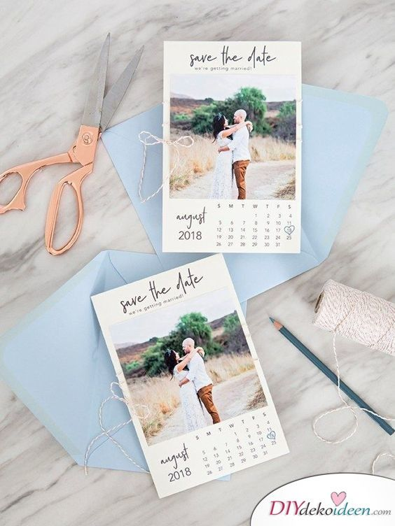 Photo of 40 wonderful save the date card ideas for your wedding