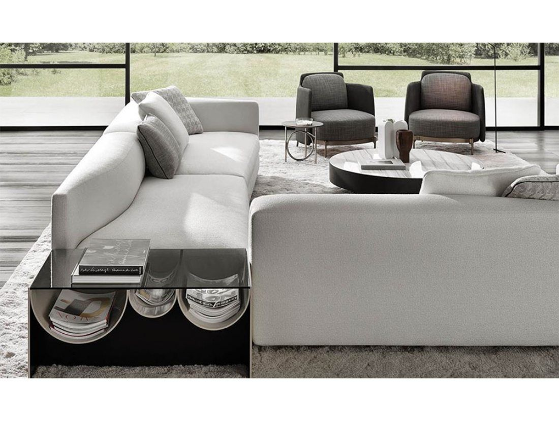 Design Bank Minotti.Minotti Granville Bank Van Der Donk Interieur Design Sofa Waves