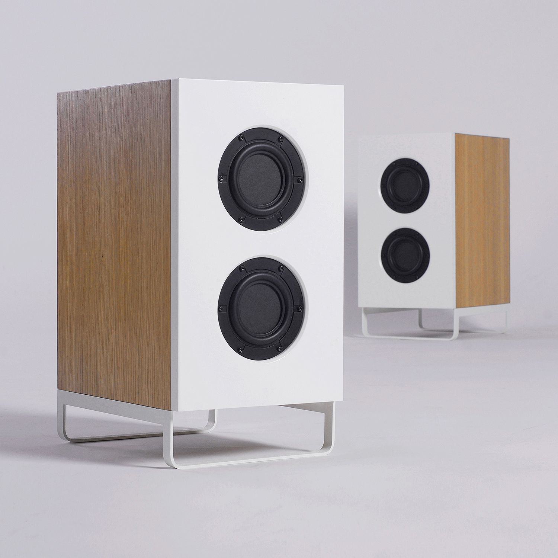 SQ2 shelf speakers by ODESD2. Designer: Mike Mironenko.