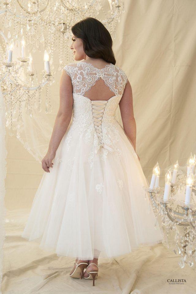 10 Stunning Tea Length Wedding Dresses For 2018 Tea Length Wedding