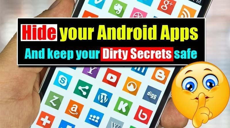 How to hide android app icon from home screenno root