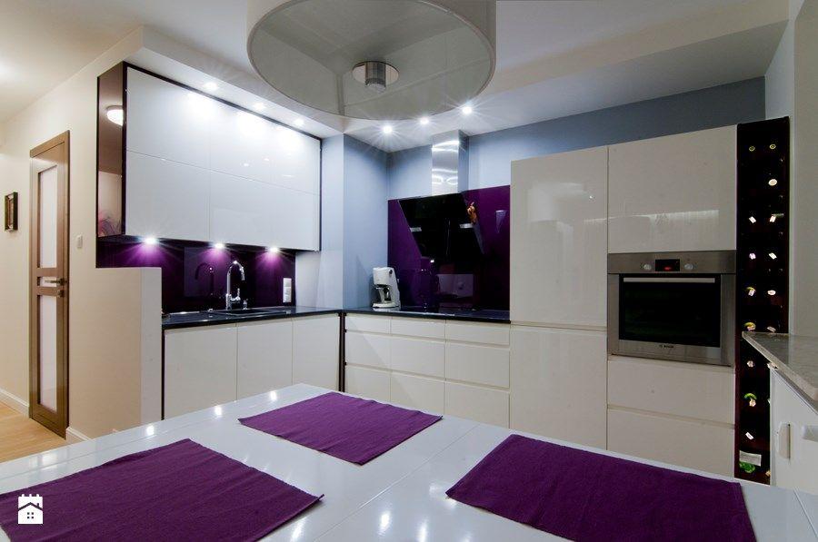 kuchnia lacobel czerwona  Szukaj w Google  WNĘTRZA   -> Kuchnie Kolory Ścian Galeria
