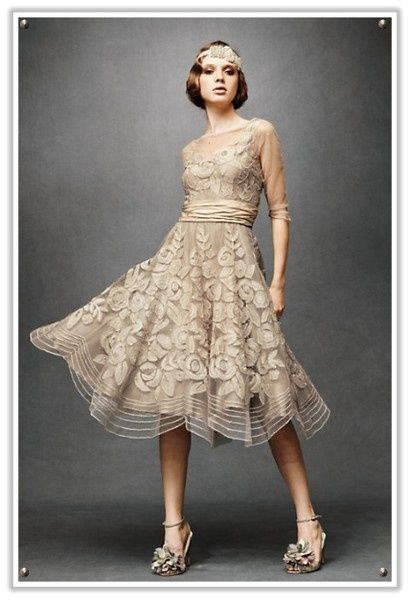 Urban Gardening Short Wedding Dress Vintage Chanel Dress Dresses