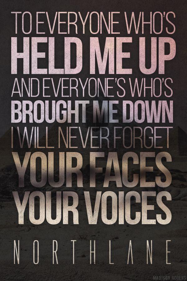 Northlane Masquerade Metalcore Lyrics Cool Lyrics Band Quotes