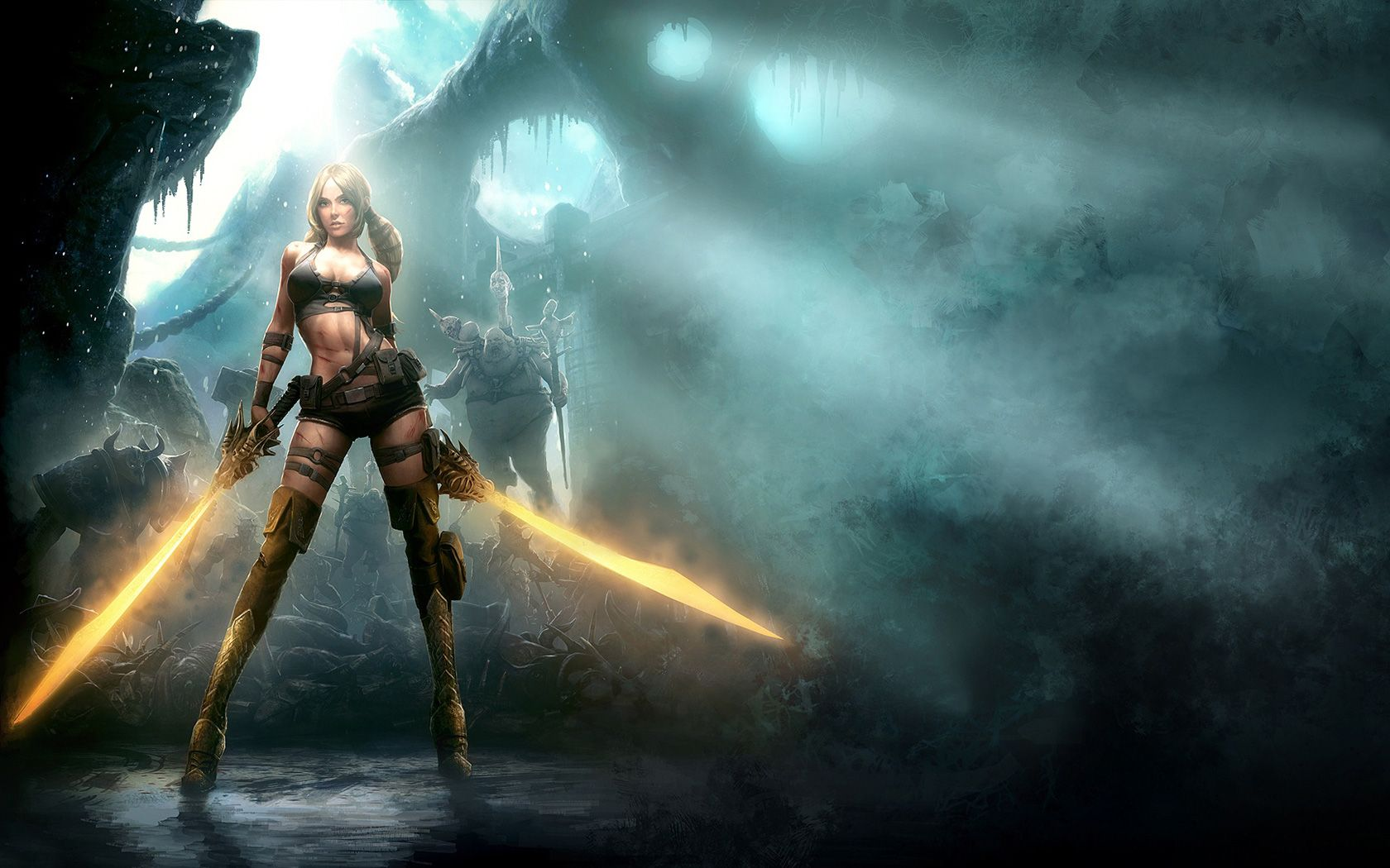 Stunning Hd Fantasy Gaming Desktop Wallpapers: Video Game Wallpapers High Resolution