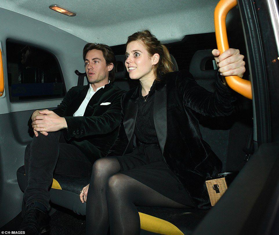 Princess Beatrice and boyfriend Edoardo Mapelli Mozzi left