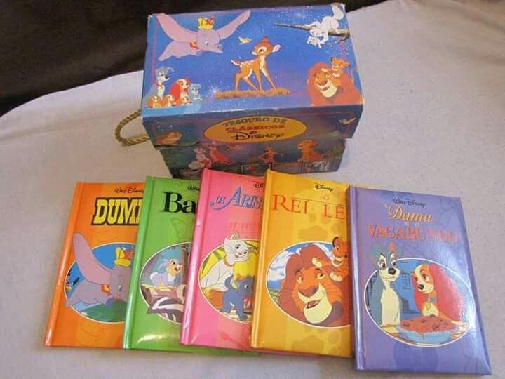 Livrinhos Disney (com imagens) | Livro disney, Livros da disney ...