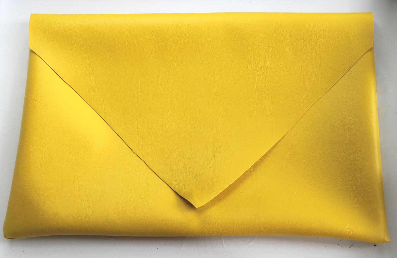 Yellow Leather, Leather Laptop Case