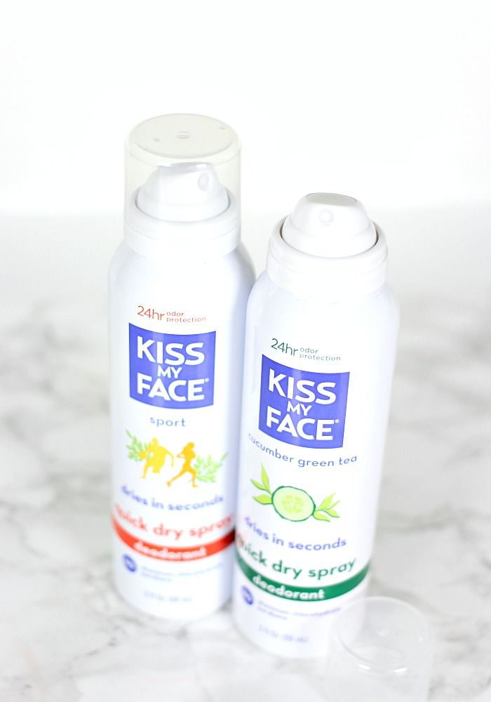Kiss My Face Quick Dry Spray Deodorant Review Kiss My Face Deodorant Summer Beauty Tips