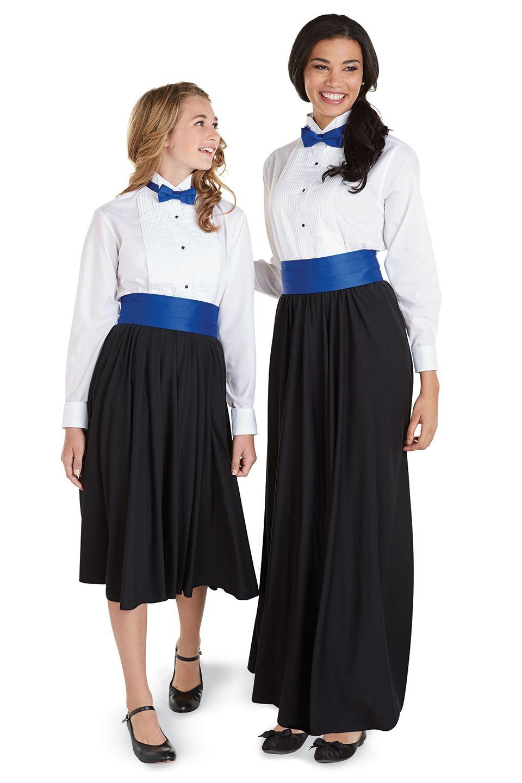 Ladies  Wing Collar Tuxedo Shirt. Ladies  Wing Collar Tuxedo Shirt Choir  Uniforms 49ed55334e18