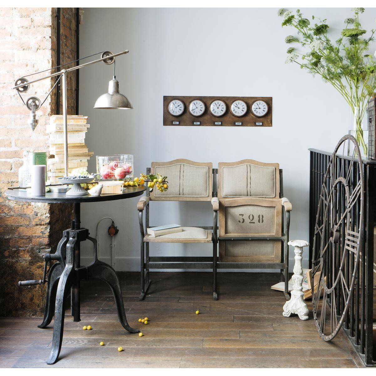 runder esstisch bistro aus metall d 75 cm schwarz home style m bel k chen ideen und. Black Bedroom Furniture Sets. Home Design Ideas