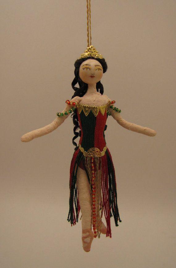 Spun Cotton Christine Daaé - Phantom of the Opera Christmas Ornament - Spun Cotton Christine Daaé - Phantom Of The Opera Ornament Craft