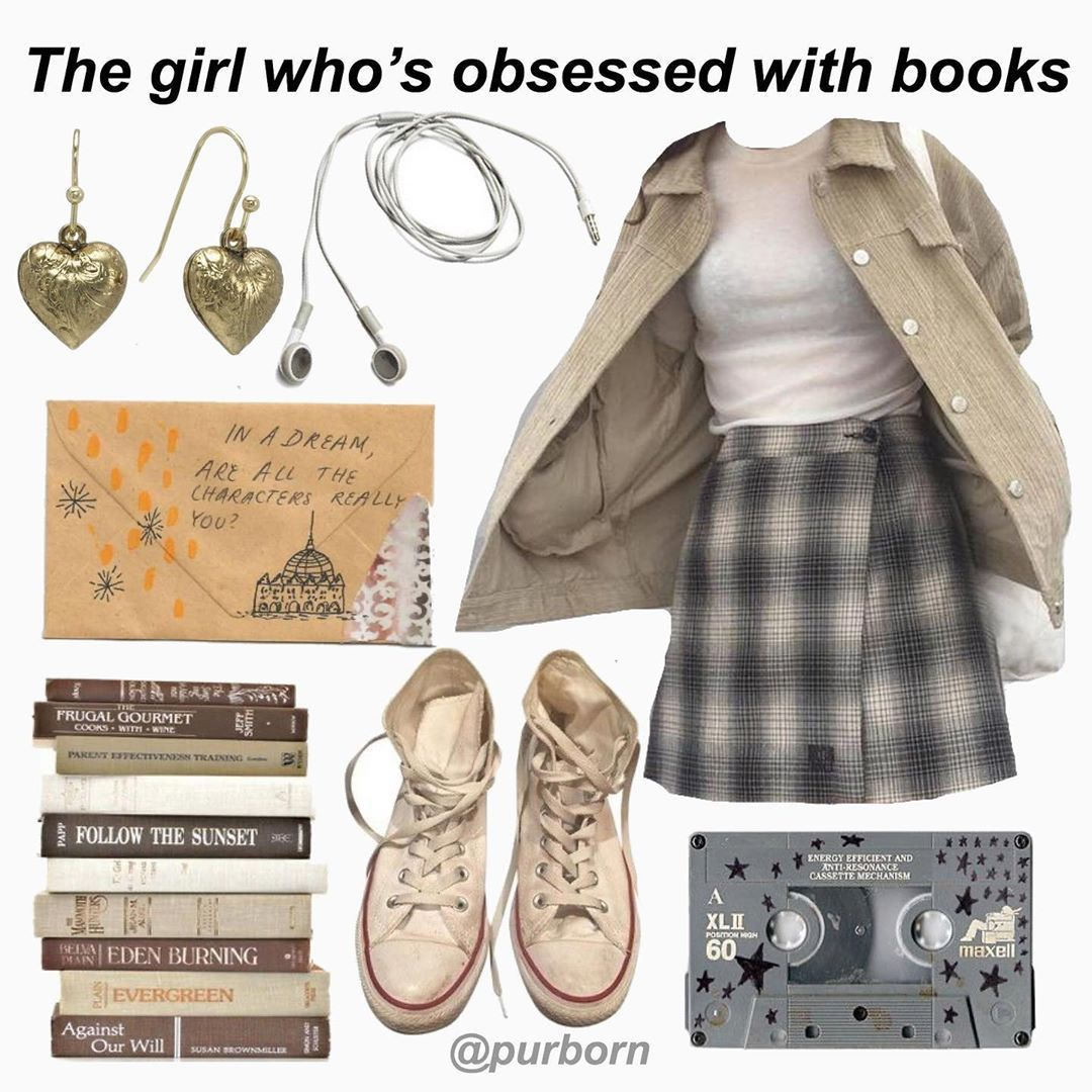 Niche Memes On Instagram What S Your Favorite Book Nerd Outfits Mood Clothes Mood Board Fashion