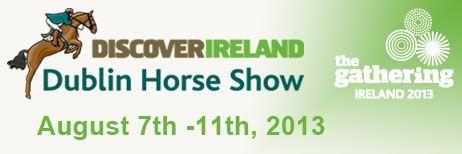Dublin Horse Show 8/7 - 8/11