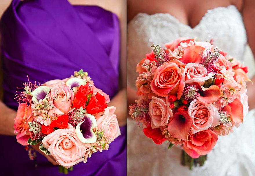 coral colored flowers wedding best 25 purple coral wedding ideas on purple 3056