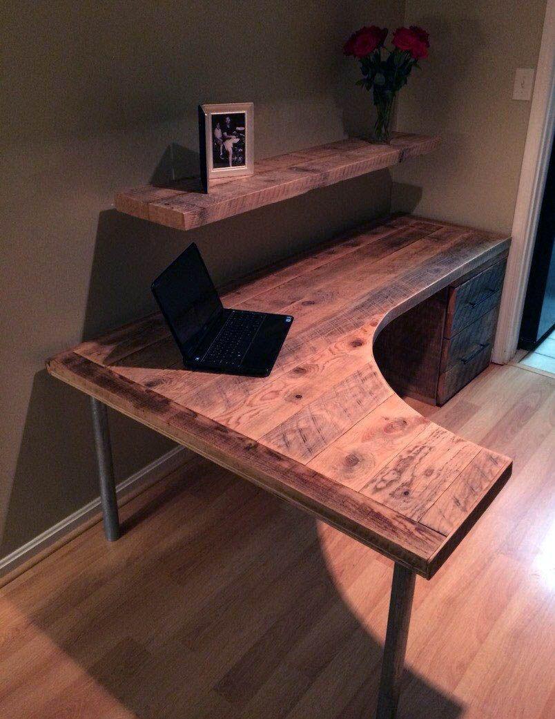 new wooden desk grommet exclusive on smart home decor on smart corner home office ideas id=61942