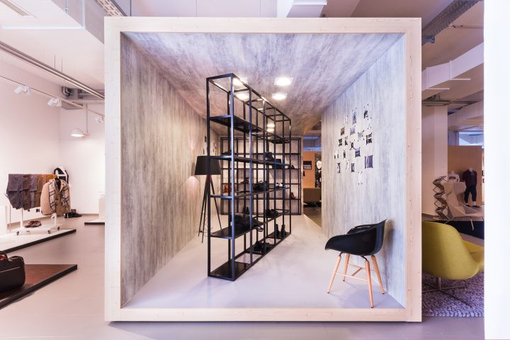 Innenausbau Berlin zalando zlabels showroom by innenausbau berlin stores