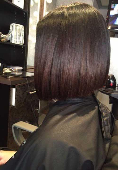 30 Dark Bob Hairstyles Bob Haircut And Hairstyle Ideas Rich Brunette Hair Hair Styles Dark Brown Hair Rich