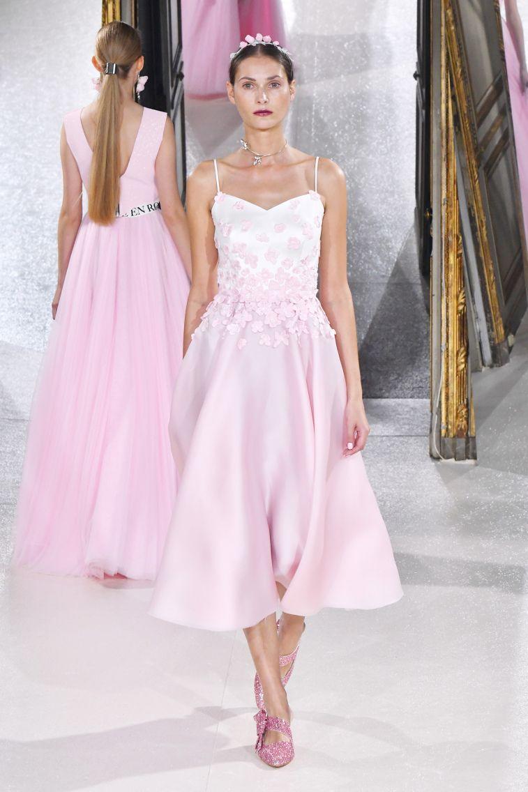 Kaviar Gauche Spring 2018 Wedding Dresses La Vie En Rose off the shoulder sweetheart neckline jumpsuit detachable tulle skirt wedding dress #weddingdress #weddinggown #floralapplique