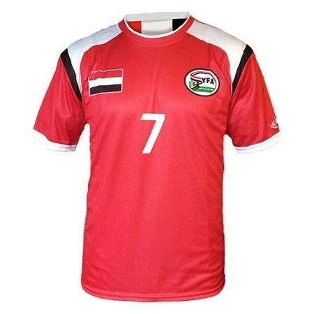 2e0c2526950 Yemen home shirt by Dahhan Sports. | T Shirts | Soccer shirts ...
