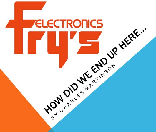 """2) Based on the feedback I collected from customers and employees of Fry's, I have broken the journey into two main parts: 1 – """"HOW DID WE END UP HERE"""" - In this section I am documenting the issues/needs/wants of customers that leads them to Fry's (retail or online store).  2 – """"EXPERIENCING FRYs"""" – Unlike any other electronics store, shopping inside of the heavily themed store is an experience upon itself."""