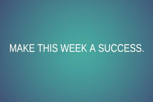 Make it a success!