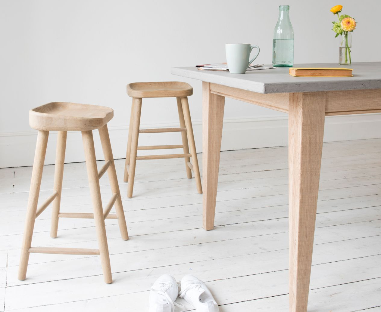 4 stools for kitchen island | home | Pinterest | Wooden kitchen ...
