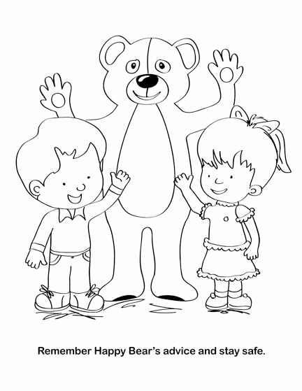 FSGC, Good Touch Bad Touch Coloring and Activity Book on ...