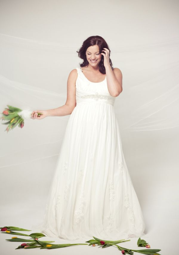 Apple Body Shape Wedding Dress