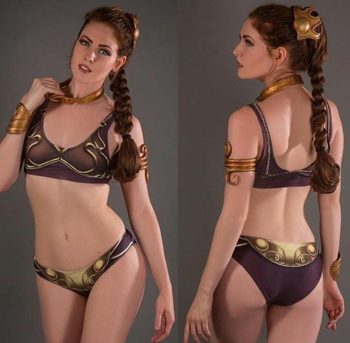 Videos of princess leia bikini #2