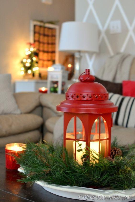 15 Ideas Para Decorar Tu Sala Esta Navidad Decoracion Interiores Ideas Para Decorar La Sala En Navid Comedores De Navidad Faroles De Navidad Sala De Navidad