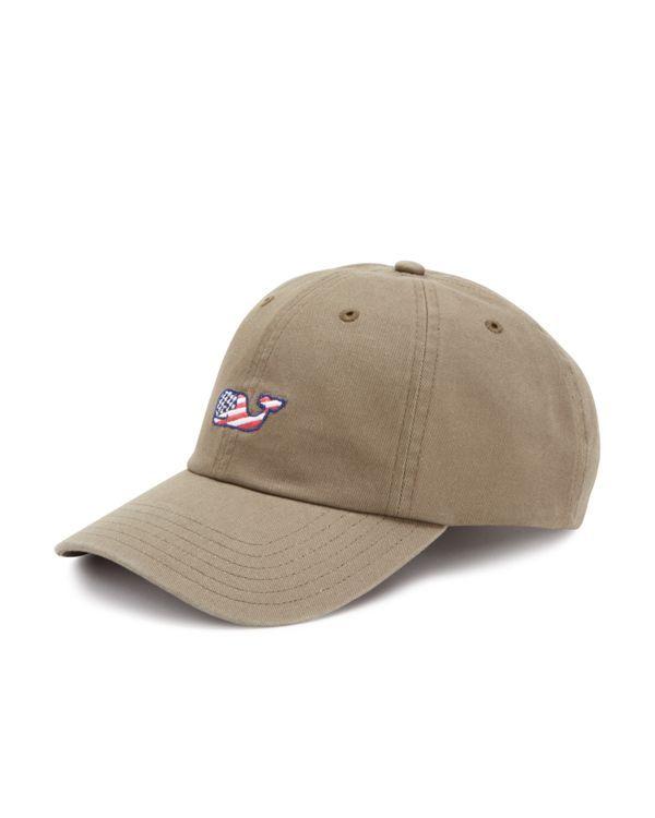 897089c86c0 Vineyard Vines Flag Whale Baseball Hat