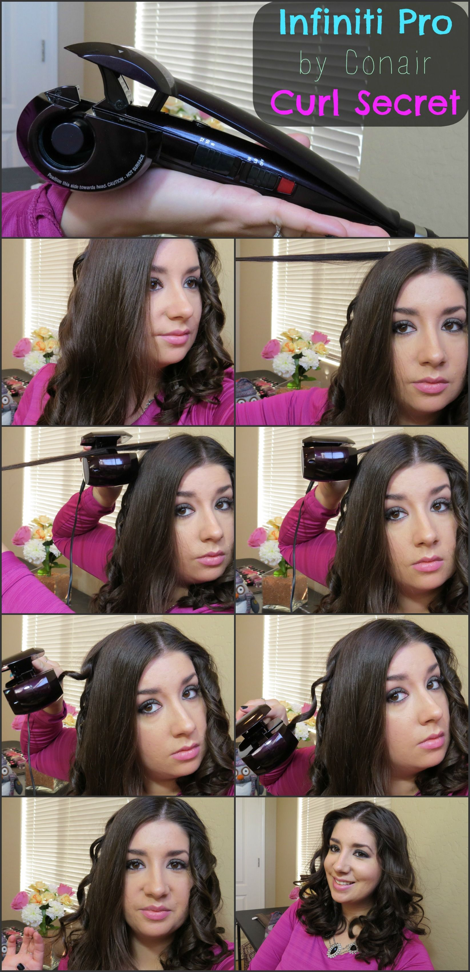 infiniti demo sparkle infinity reviews pink review curl pro watch me secret conair youtube conaircurl