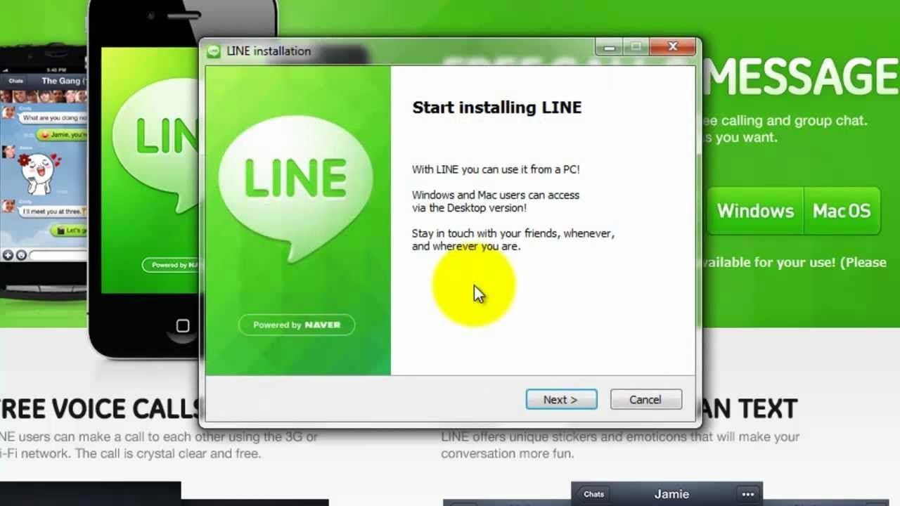Download Line for PC (Windows 7/10 / XP) Mac Laptop
