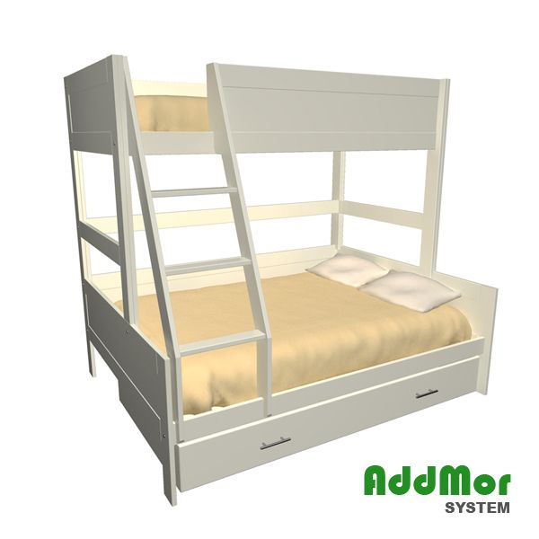 Best Double To Single Bunk The Addmor Double To Single Bunk Bed 400 x 300