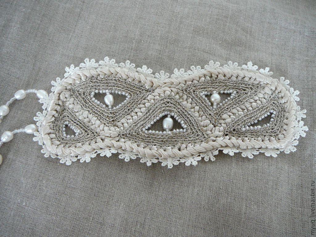 Вязаный браслет | вязаные украшения | Bracelets, Crochet и ...