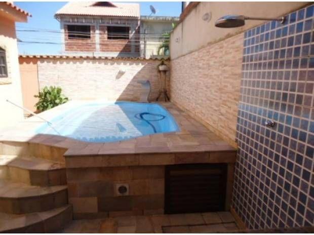 Casa com piscina pequena pesquisa google rea externa - Piscina pequena plastico ...