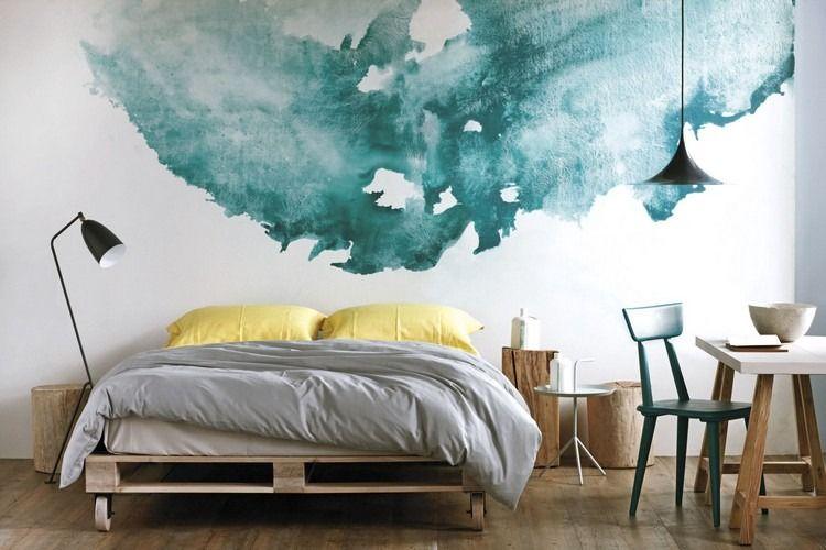 Peinture à l\u0027eau pour créer un décor aquarellé et une ambiance bucolique