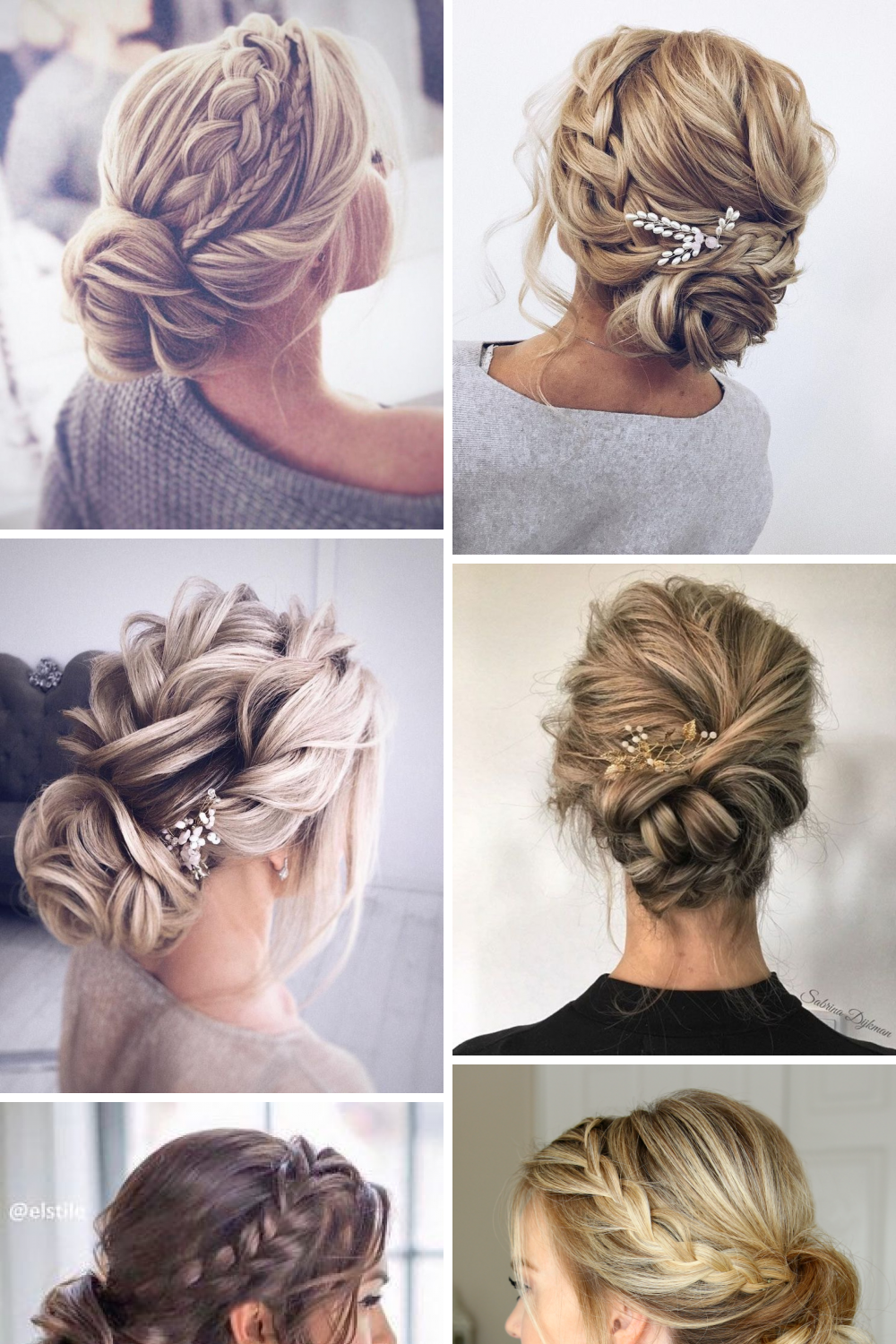 12 Stylish Wedding Braids Updo Pictures Short Wedding Hair Long Hair Updo Plaits Hairstyles