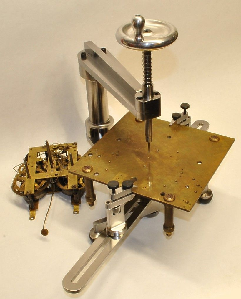 Bushing Machine For Clock Instrument