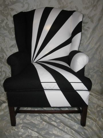 Best Award Of Excellence Residential Upholstery Black White Chair Kipe's Upholstery Black And 400 x 300
