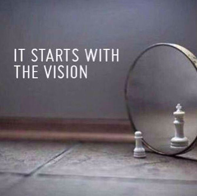 Start with a vision Success Quotes Pinterest Success