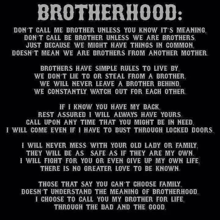 The Real Truth About Brotherhood In The Mc World Old School