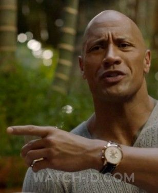 237bb8055d57 It looks like Dwayne Johnson is wearing Breitling Transocean Chronograph  watch in the HBO tv series Ballers.