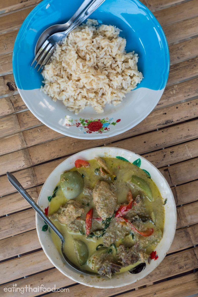 Authentic Thai Green Curry Recipe แกงเขียวหวาน   Best Taste