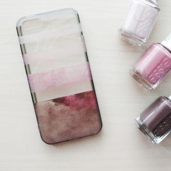 nail polish ombre phone case  makeful  diy phone case