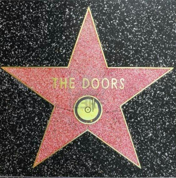 The Doors The Doors Jim Morrison Doors Music Hollywood Walk Of Fame